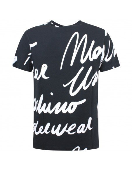 LEVI'S - T-shirt donna nera con stampa bianca -